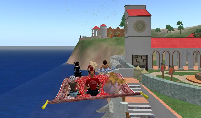 SGDI SecondLife Island Guided Tour